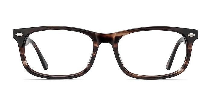 Birmingham Café Acétate Montures de lunettes de vue d'EyeBuyDirect