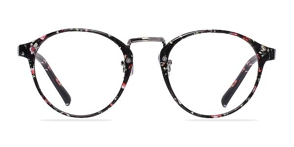 Small Chillax Red/Floral Plastique Montures de lunettes de vue