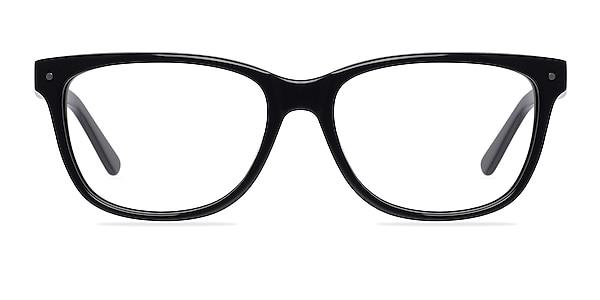 Allure Black Acetate Eyeglass Frames