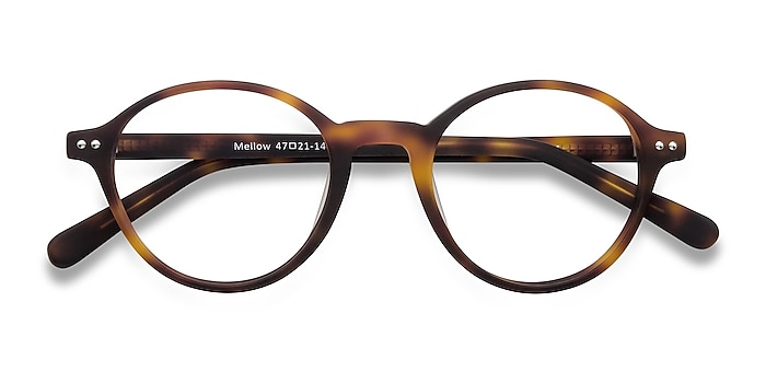 Matte Tortoise Mellow -  Classic Acetate Eyeglasses