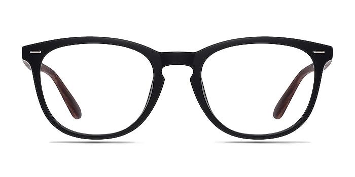 Yolo Black/Brown Plastic Eyeglass Frames from EyeBuyDirect