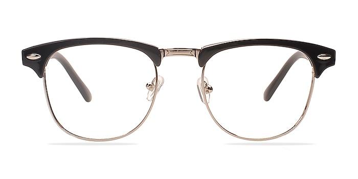 Coexist Black/Silver Plastic-metal Eyeglass Frames from EyeBuyDirect