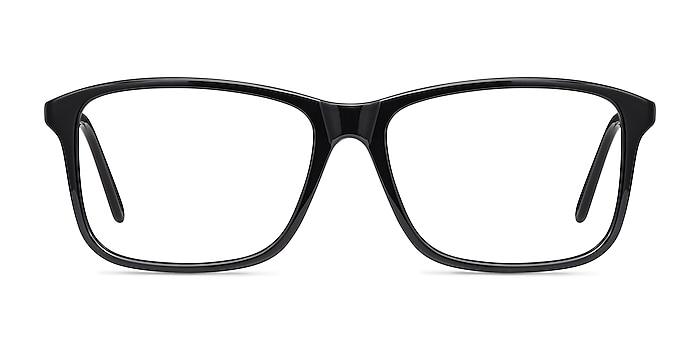 Pablo Black Plastic Eyeglass Frames from EyeBuyDirect