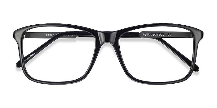 Black Pablo -  Lightweight Plastic Eyeglasses