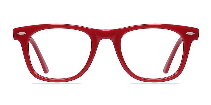Blizzard Raspberry Acetate Eyeglass Frames from EyeBuyDirect
