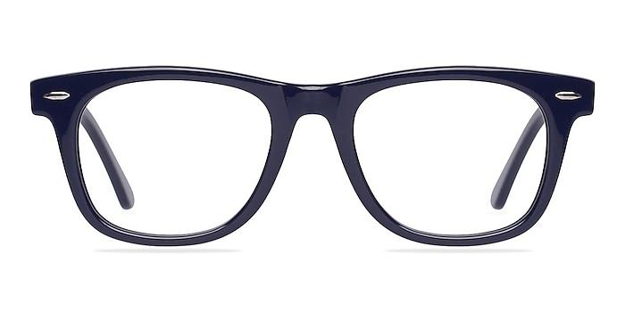 Blizzard Navy Acetate Eyeglass Frames from EyeBuyDirect