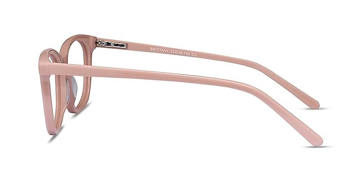 Brittany Pink Acetate Eyeglass Frames from EyeBuyDirect