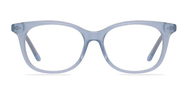 Brittany Clear Blue Acetate Eyeglass Frames