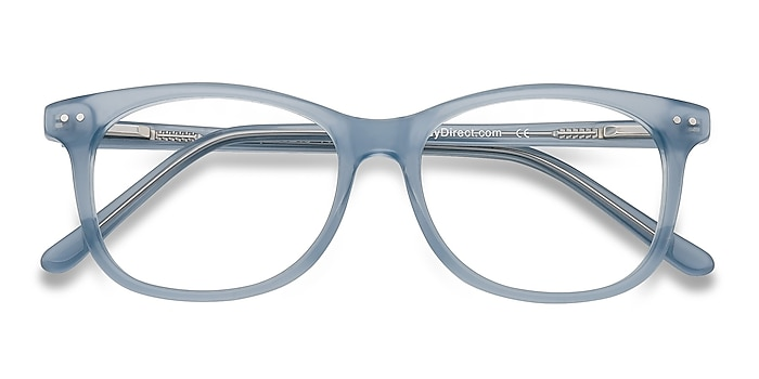 Clear Blue Brittany -  Colorful Acetate Eyeglasses