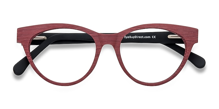 Berry Red Jane Birkin -  Fashion Acetate Eyeglasses