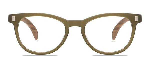 Sahara Matte Green Acetate Eyeglass Frames