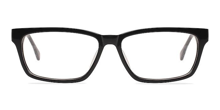 Seattle Black Acetate Eyeglass Frames from EyeBuyDirect
