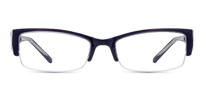 Diane Navy Plastic Eyeglass Frames from EyeBuyDirect