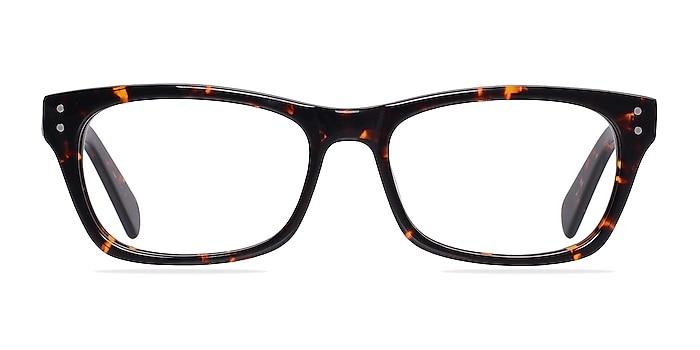 Avalon Tortoise Acetate Eyeglass Frames from EyeBuyDirect