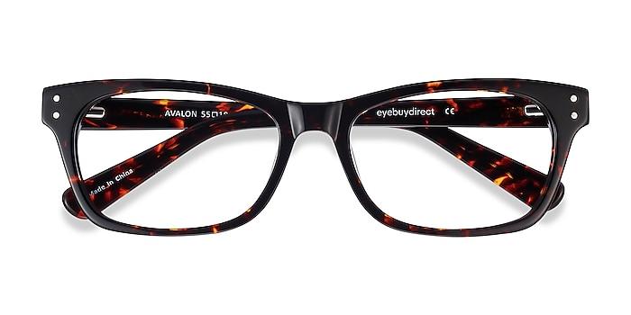 Tortoise Avalon -  Classic Acetate Eyeglasses