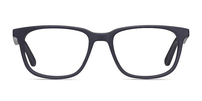 Bristol Matte Navy Acetate Eyeglass Frames from EyeBuyDirect