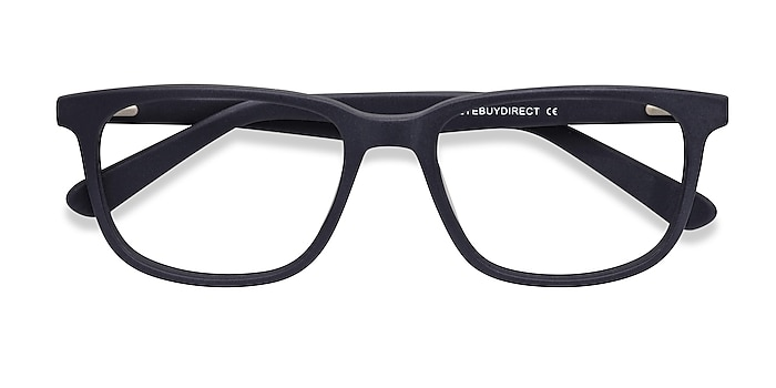 Matte Navy Bristol -  Geek Acetate Eyeglasses