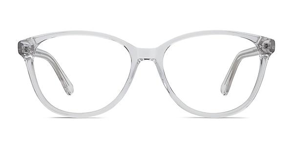 Hepburn Clear Acetate Eyeglass Frames