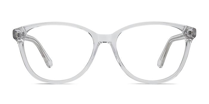 Hepburn Transparence Acétate Montures de lunettes de vue d'EyeBuyDirect