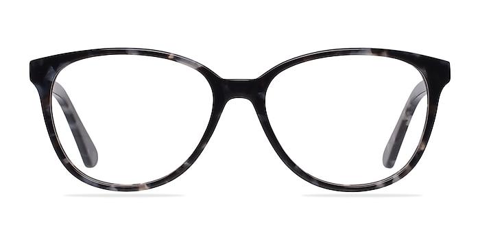 Hepburn Gray/Floral Acetate Eyeglass Frames from EyeBuyDirect