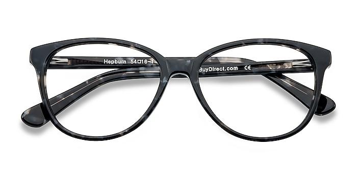 Gray/Floral Hepburn -  Fashion Acetate Eyeglasses
