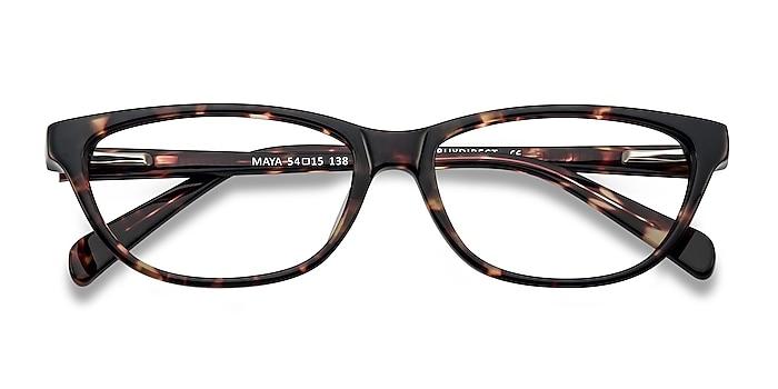 Tortoise Maya -  Acetate Eyeglasses