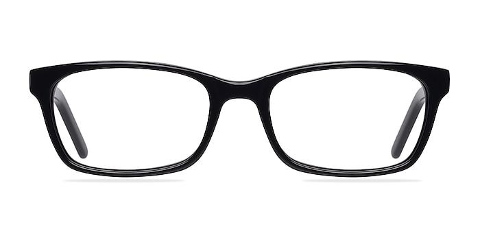 Mesquite Noir Acétate Montures de lunettes de vue d'EyeBuyDirect