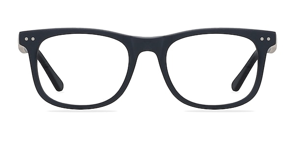 Montreal Matte Navy Acetate Eyeglass Frames