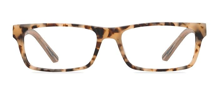 Cambridge Matte Tortoise Acetate Eyeglass Frames from EyeBuyDirect