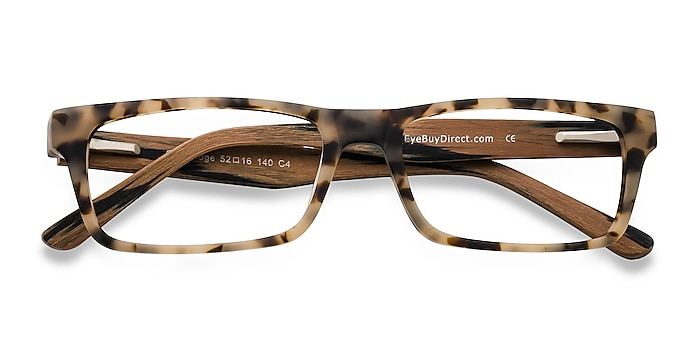 Matte Tortoise Cambridge -  Acetate Eyeglasses