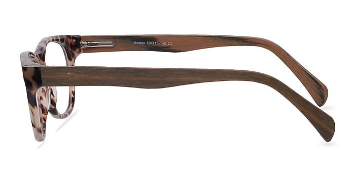Amber Ivory/Tortoise Acetate Eyeglass Frames from EyeBuyDirect