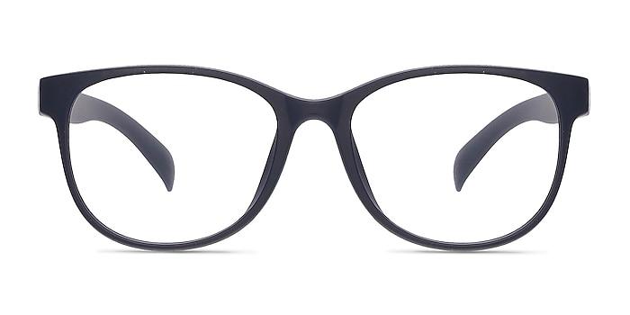 Warren Matte Navy Plastic Eyeglass Frames from EyeBuyDirect