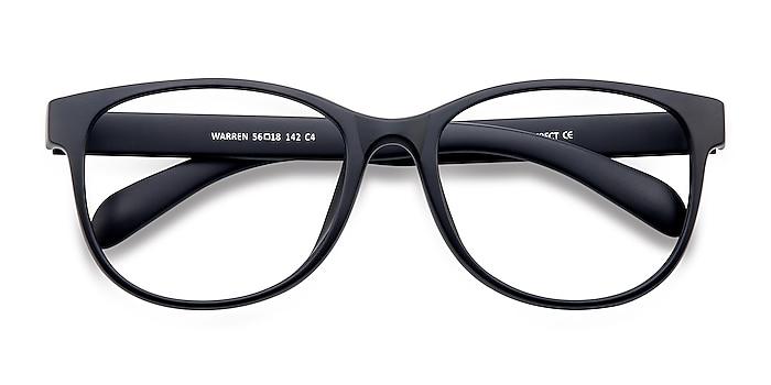 Matte Navy Warren -  Lightweight Plastic Eyeglasses