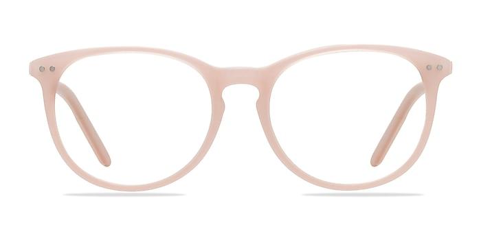 Fiction Pink Acetate Eyeglass Frames from EyeBuyDirect