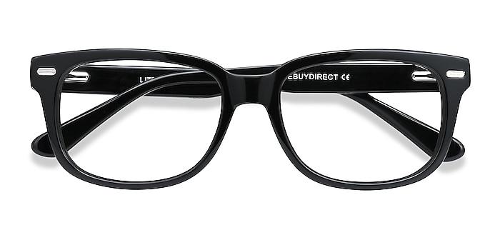 Black Little John -  Acetate Eyeglasses