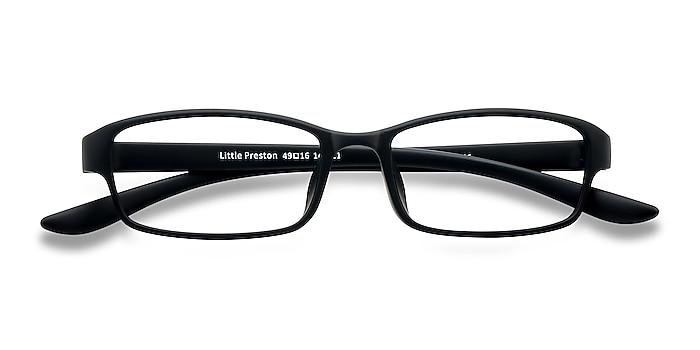 Black Little Preston -  Lightweight Plastic Eyeglasses
