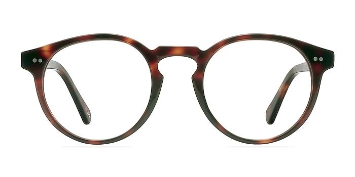 Theory Warm Tortoise Acetate Eyeglass Frames from EyeBuyDirect