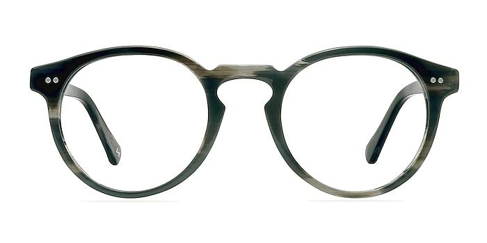Theory Striped Granite Acetate Eyeglass Frames from EyeBuyDirect