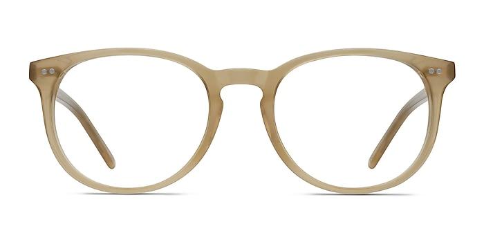 Aura Matte Champagne Acétate Montures de lunettes de vue d'EyeBuyDirect