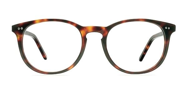 Aura Warm Tortoise Acetate Eyeglass Frames