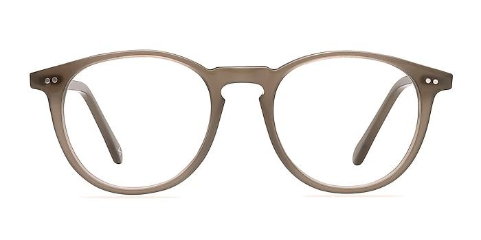 Prism Taupe Acétate Montures de lunettes de vue d'EyeBuyDirect