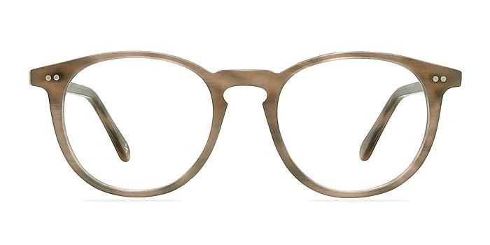 Prism Chestnut Acetate Eyeglass Frames from EyeBuyDirect