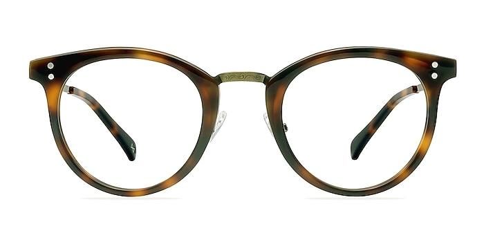 Nostalgia Caramel Acetate-metal Eyeglass Frames from EyeBuyDirect