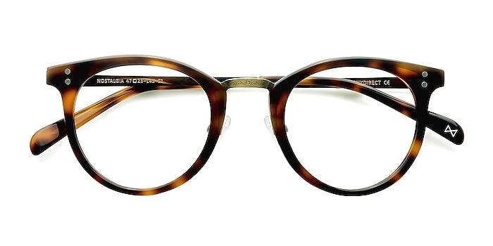 Caramel Nostalgia -  Fashion Acetate, Metal Eyeglasses
