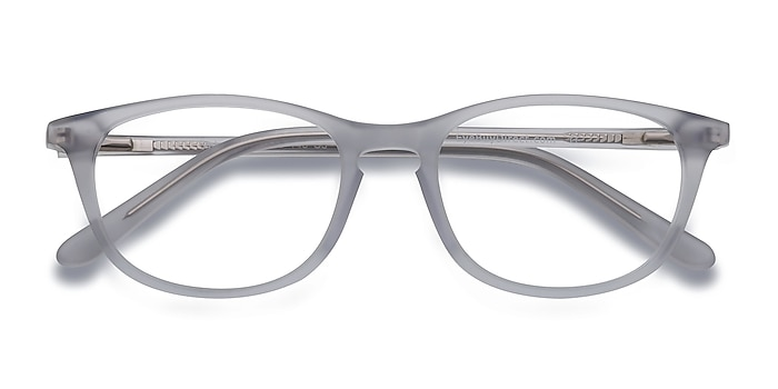 Clear/Gray Valentin -  Acetate Eyeglasses