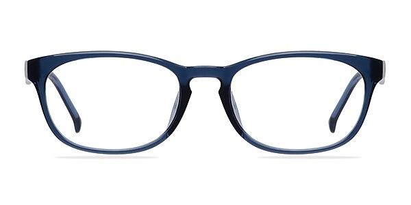 Drums Bleu Plastique Montures de lunettes de vue