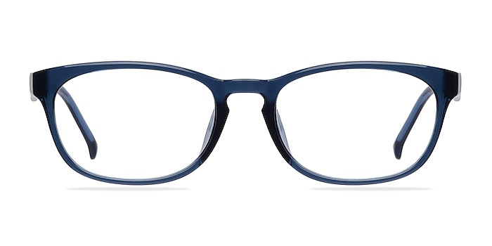 Drums Blue Plastic Eyeglass Frames from EyeBuyDirect