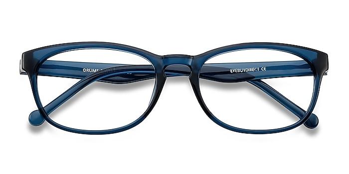 Blue Drums -  Lightweight Plastic Eyeglasses