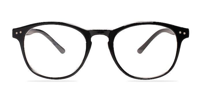 Instant Crush Clear/Black Plastique Montures de lunettes de vue d'EyeBuyDirect