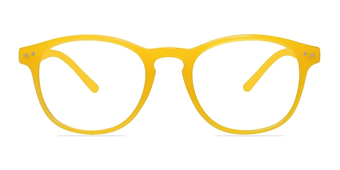 Instant Crush Yellow Plastic Eyeglass Frames from EyeBuyDirect